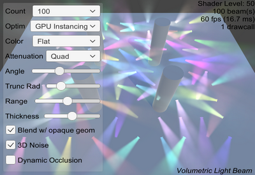 Volumetric Light Beam Documentation